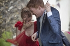 Domhnall Gleeson has a sweet chemistry with Rachel McAdams in 'About Time'.