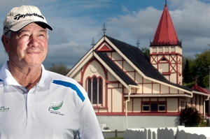 Golfer Tom Walters hopes the New Zealand Maori Golf Association can raise lots of money for St Faith's Church. Photo / Ben Fraser