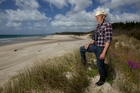 Reg Whale is concerned about plans to develop coastal land at Te Arai Pt. Photo / Brett Phibbs