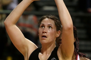 Jodi Brown says her main focus for the series is to improve her shooting volume. Photo / Getty Images