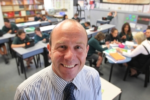 Principal Daniel Murfitt, who is off to Qatar on Saturday, says he is honoured to attend the World Innovation Summit for Education. Photo / Duncan Brown