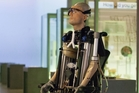 Rex Bionics on the North Shore has helped Frank to stand and walk.