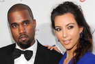 Singer Kanye West and Kim Kardashian are engaged. Photo / AP