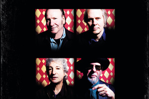 Television's 2013 line up (clockwise from top left) Fred Smith, Tom Verlaine, Jimmy Rip, Billy Ficca.