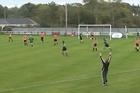 Republic of Ireland international Stephanie Roche volleys stunning strike against Wexford Youths Womens. Video / Youtube: Eileen gleeson