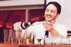 Adam Neal has been named the best bartender in NZ. Photo / Beam Global