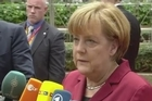 German Chancellor Angela Merkel, the target of US snooping on her mobile phone, said Thursday that such conduct between friends was unacceptable.