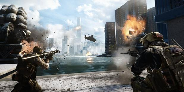 Games often have great soundtracks to go along with them. Photo / EA: Battlefield 4