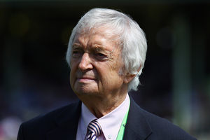 Richie Benaud. Photo / Getty Images.