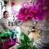 The workroom of milliner Richard Nylon. Photo / Natalie Slade