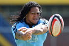 Nonu said on Friday he knew he had to be 'a better guy'. Photo / Getty Images
