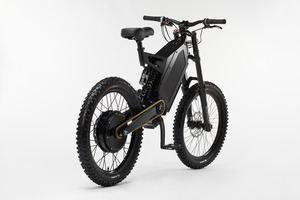 The Stealth Bomber performance electric bike has a 4.5kw DC electric motor. Photo / Supplied