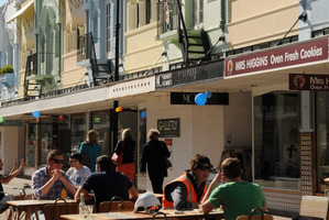 New Regent Street is back in business, Christchurch. Photo / Liz Light