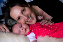 Jo Gray wants a christening for daughter Isabelle Oakhill. Photo / Dean Purcell
