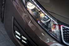 The Kia Optima Ltd has new front fog lights. Pictures / Ted Baghurst