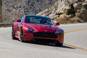 The V12 Vantage S was built by Aston Martin to be usable for a competent driver and not too scary.