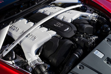 The Aston Martin Vantage's tidy V12 engine generates an impressive 620Nm of torque at a mere 1000rpm.