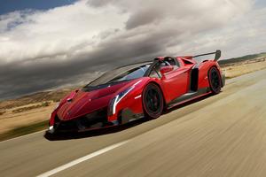 The Lamborghini Veneno Roadster will set you back $5.3 million.