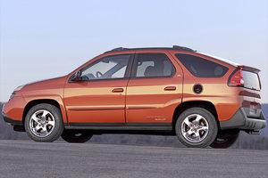 The Pontiac Aztek (as seen in Breaking Bad) is an ugly car.