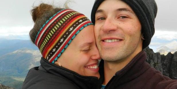 Rutger Hale and his Alaskan girlfriend, Danielle.