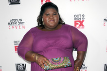 Gabourey Sidibe was on the cover of Elle.Photo / AP