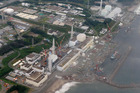 This aerial photo of the Fukushima Dai-ichi nuclear power plant, which was evacuated after this morning's quake. Photo / AP