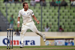 New Zealand's Neil Wagner has been in strong form during the test. Photo / Getty Images