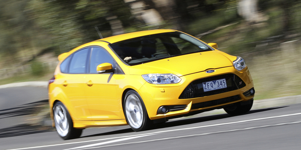 Ford Focus ST. Photo / Supplied