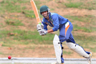 Rotorua lost to Eastern Bay of Plenty at the weekend in the Attrill Cup. Pictured is Bharat Popli who top scored for Rotorua with 30.