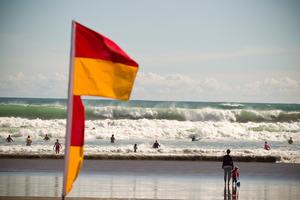 Surf Lifesavers at Piha Beach. Photo / APN