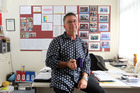 Marc Dombroski, principal of Onepoto School in Northcote, Auckland. Photo / Janna Dixon