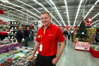 The Warehouse chief executive Mark Powell - initially dubious about the popularity of 'click and collect' - but has now seen 12pc of its online sales use the service. Photo / Brett Phibbs