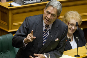 Winston Peters. File Photo / NZ Herald