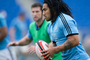 All Black Ma'a Nonu has signed with the Blues for the next two seasons. PHOTO/APN