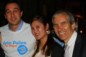 L-R: Luigi Wewege, Bevan Chuang and John Palino.