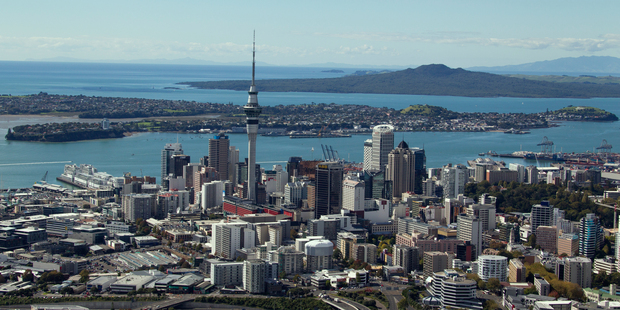 Manufacturing and construction sectors are adding plenty of jobs to Auckland, where the population is rising steadily. Photo / Brett Phibbs