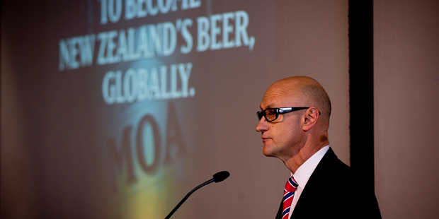 Geoff Ross from Moa Beer. Photo /  Dean Purcell.