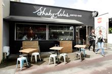Shaky Isles Coffee Co. in Kingsland. Photo / Janna Dixon
