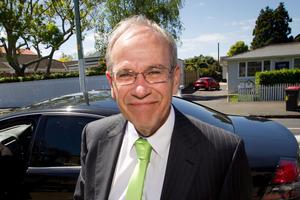 Auckland Mayor Len Brown. Photo / Richard Robinson