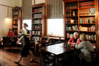 The Library cafe in Onehunga. Photo / Janna Dixon