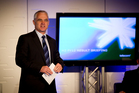 Telecom chief executive Simon Moutter. Photo / Dean Purcell&