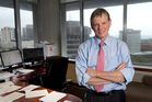 Reserve Bank Governor Graeme Wheeler in his office. Photo / Mark Mitchell
