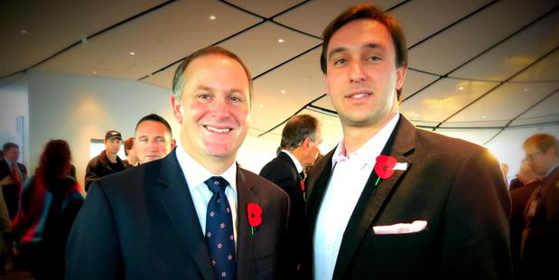 Wewege was never a tall poppy in NZ, however often he had himself pictured with someone well-known.