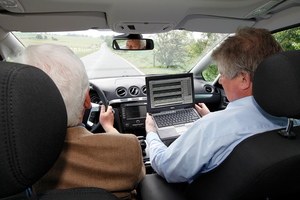 More elderly drivers are on the roads.