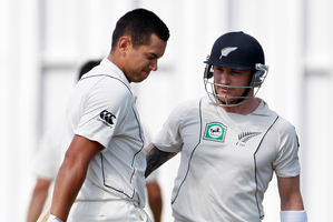 Ross Taylor and Brendon McCullum are returning early to focus on the West Indies matches. Photo /  Christine Cornege