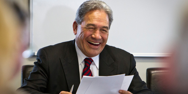 Winston Peters' 'Kiwi Fund' plan means political risk is back on the agenda for the default KiwiSaver schemes. Photo / Hawkes Bay Today