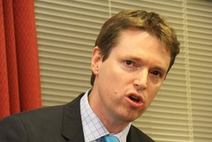 Conservative Party leader Colin Craig. Photo / APN