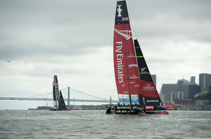 Team NZ's efforts-drew in not only people who had no previous interest in sailing but also people from different walks of life. Photo / Getty Images