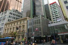 The former BNZ tower at 125 Queen Street.