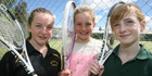 Young stars aces on tennic court